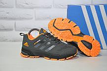 Кроссовки подростковые/женские серые сетка в стиле Adidas Springblade унисекс