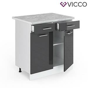 Кухонна тумба 80х46 Vicco, антрацит