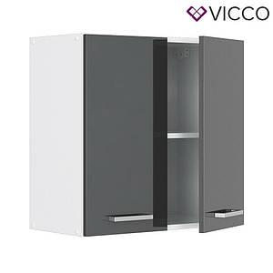 Кухонна навісна шафа 60х31 Vicco, антрацит