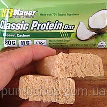 Протеиновый батончик Mauer Nutrition Classic Protein Bar 75 г кокос с кэшью, фото 3