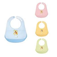 Слинявчик пластиковий кольоровий, Canpol babies, фото 1