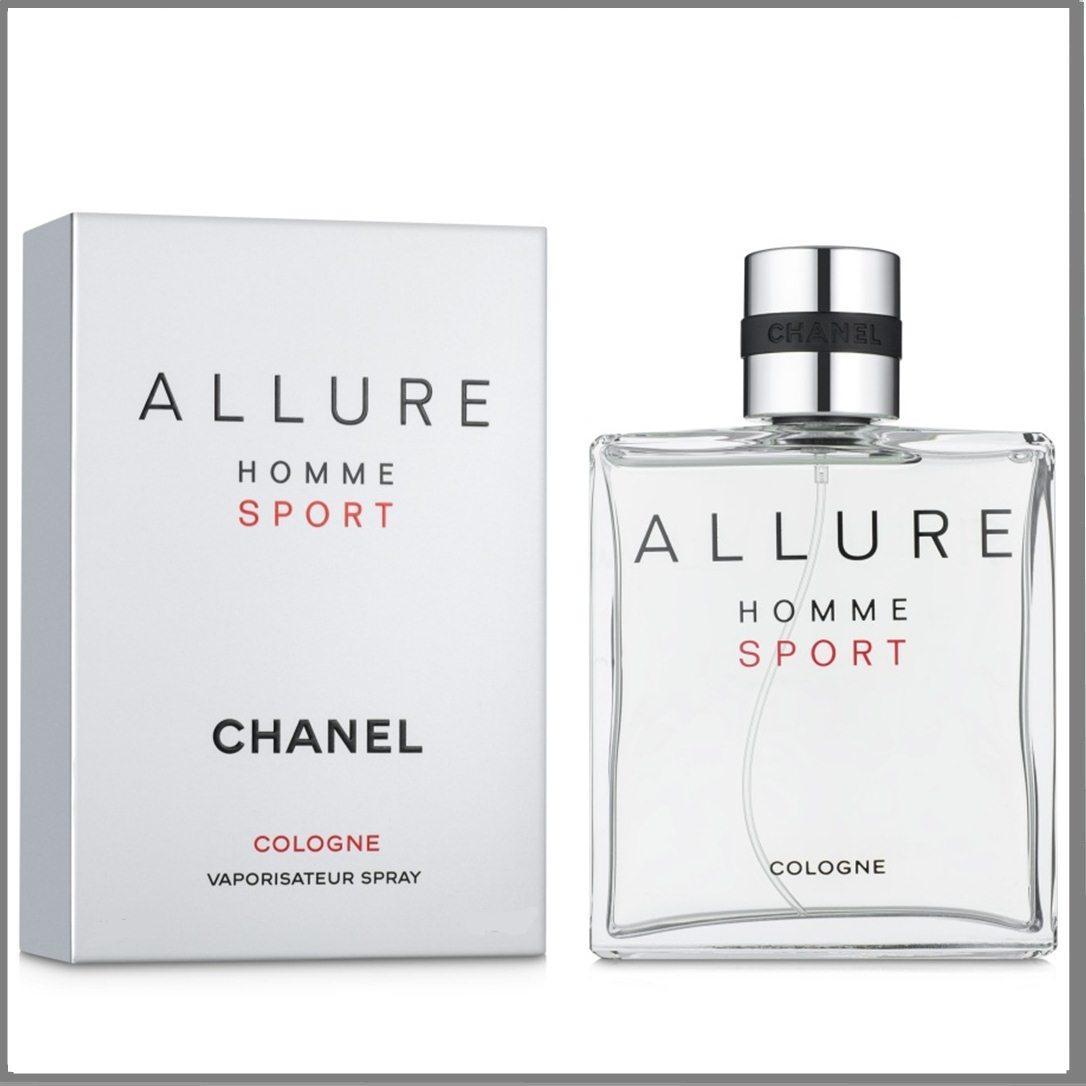 Chanel Allure Homme Sport Cologne одеколон 100 ml. (Шанель Аллюр Хом Спорт Колаген)