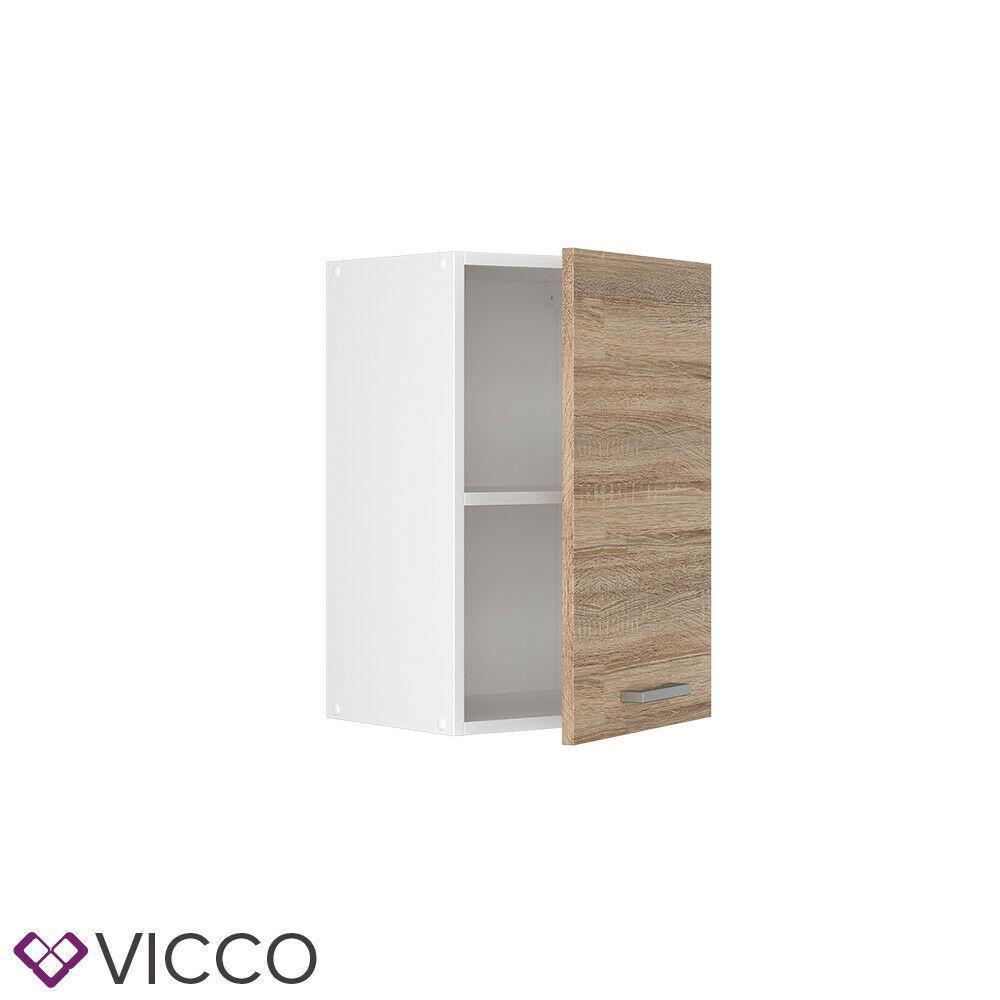 Навесной кухонный шкаф Vicco 40х31, сонома