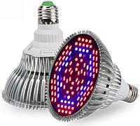 Фитолампа светодиодная 80 LEDs 2835 (52R28B) 3.5 Ватт. Цоколь Е27