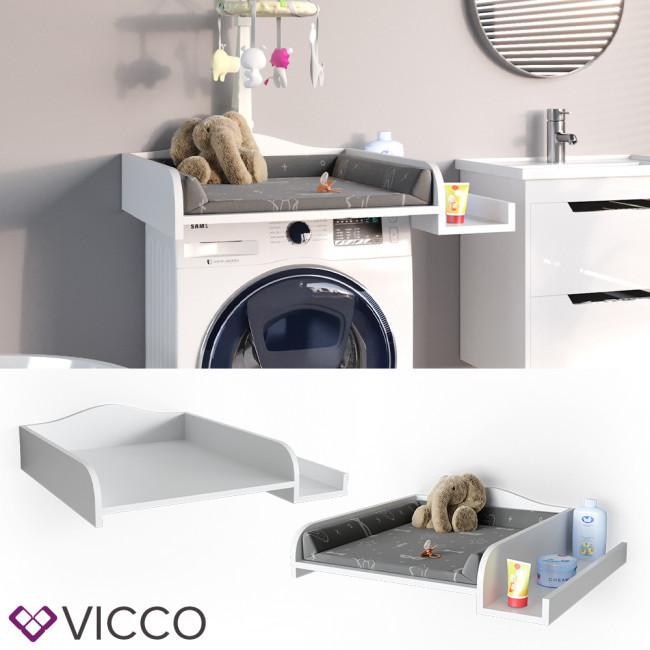 Пеленатор на пральну машину Vicco, білий