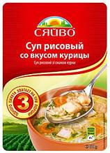 Суп рисовий зв смаком курки 60г