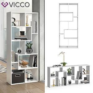 Разделитель комнаты 161x67 Vicco Noa, белый
