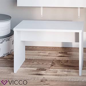 Лавка для туалетного столика, Vicco біла