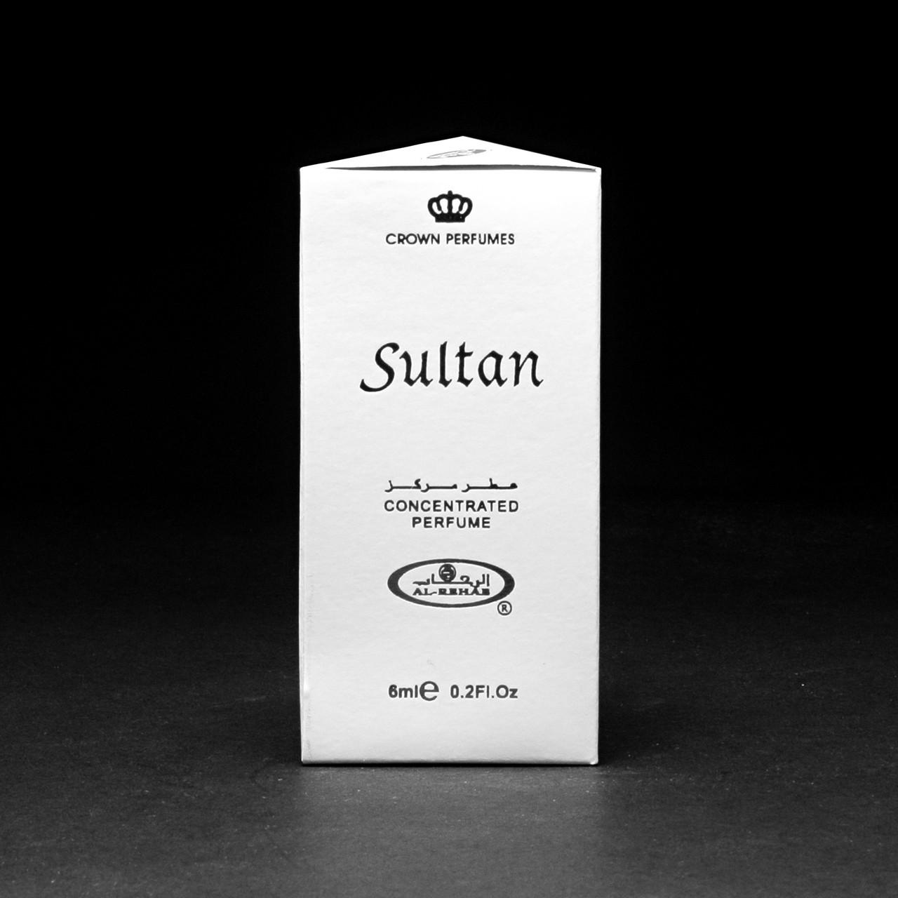 Чоловічі масляні духи SULTAN (Султан) Al-Rehab - сандалове дерево з ялівцем і корицею 6 мл