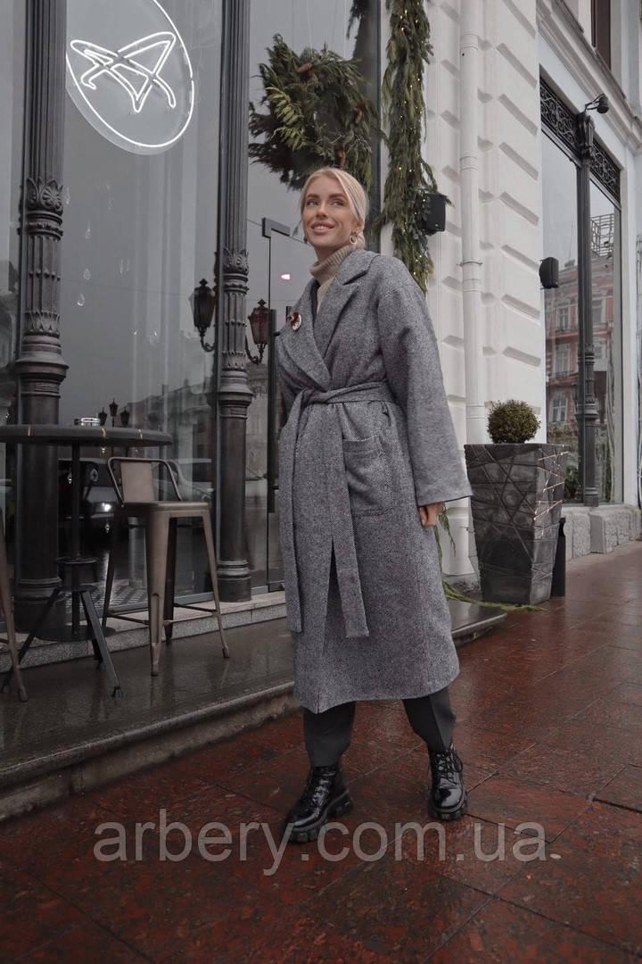 Шикарное зимнее пальто в стиле Oversize