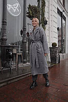 Шикарное зимнее пальто в стиле Oversize, фото 1