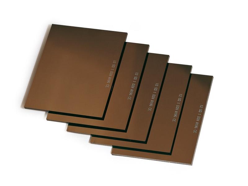 Защитная линза LUX GOLD  с зеркальным покрытием 9 DIN, 10DIN, 11DIN, 12DIN, 13DIN  Trafimet