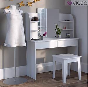 Туалетний столик 108x142 Vicco Charlotte, білий