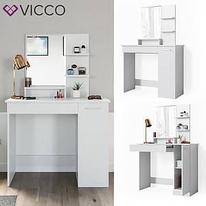 Туалетний столик 90х138, Vicco Julia, білий