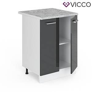Тумба на кухню зі стільницею 60х46 Vicco, антрацит