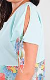 Лада. Вишукане плаття великих розмірів. М'ята., фото 4