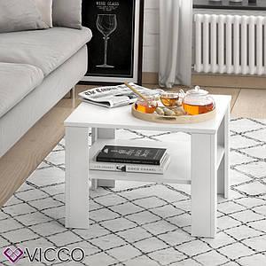 Чайний столик Vicco Homer 60x60, білий