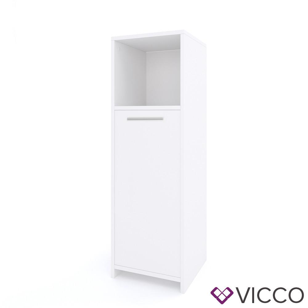 Шкаф для ванной комнаты 30x95 Vicco Kiko, белый