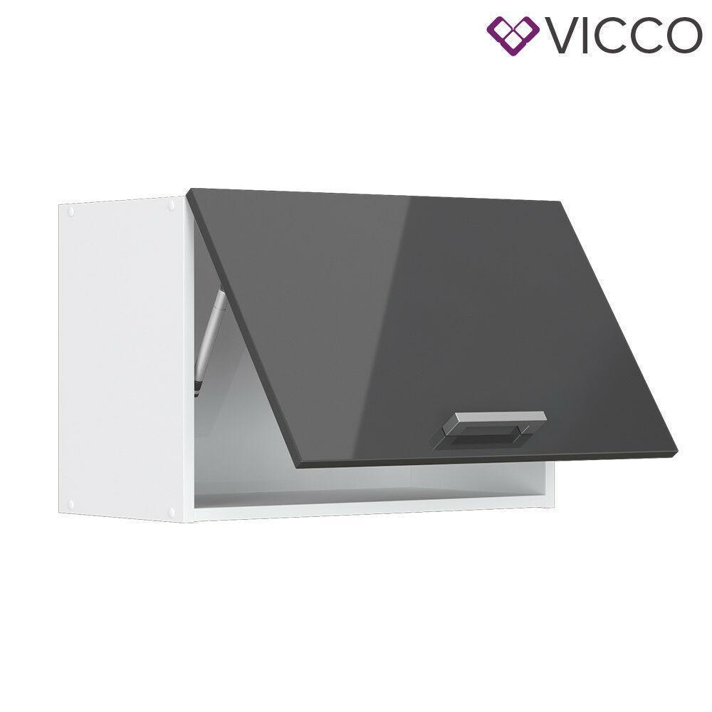 Шкаф кухонный над вытяжкой 60х31 Vicco, антрацит