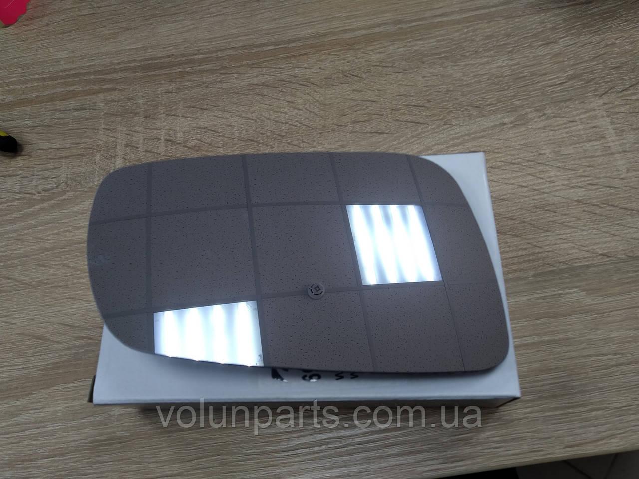 Вкладиш зеркала зовнішнього правий (сірий) Passat B5/ GOLF 4/ OCTAVIA TOUR/ TOLEDO/ LEON  (POLCAR 6920558E)