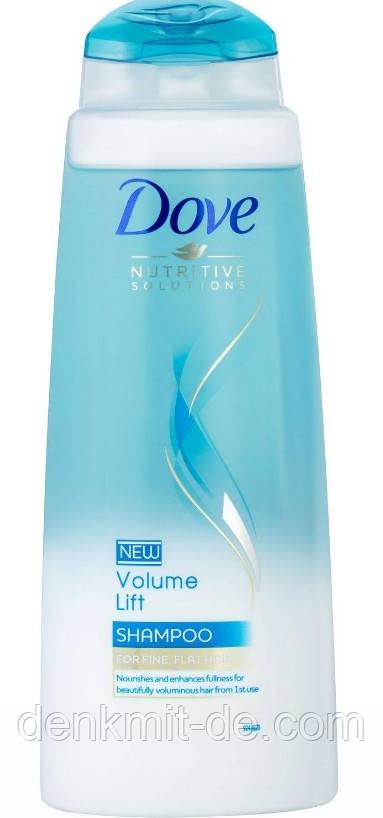 Dove шампунь для тонких волос Роскошный объем 400 мл