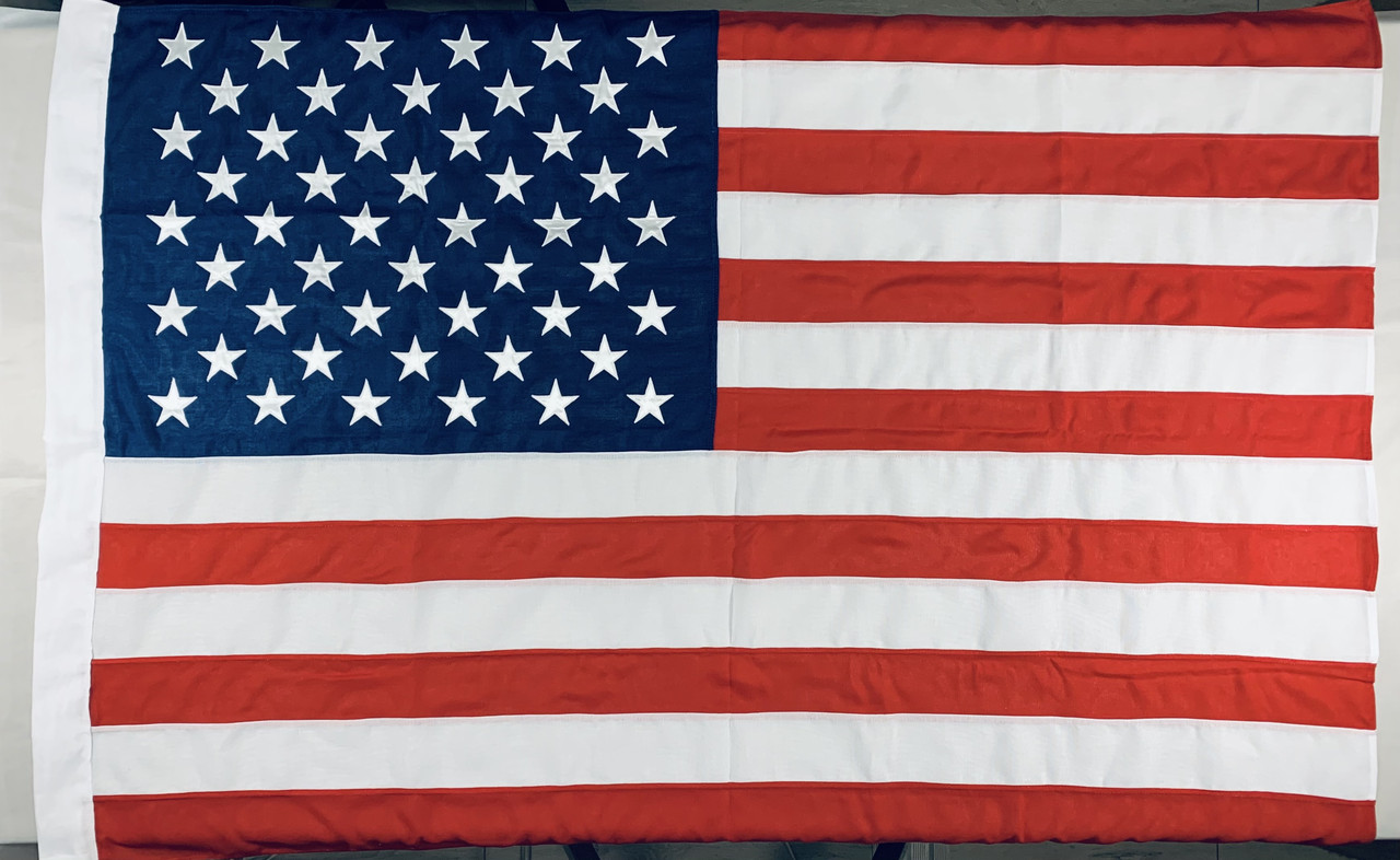 Прапор США (Вишитий) - 1м*1.5м