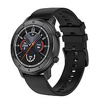 Умные часы NO.1 DT89 Silicon с тонометром и пульсоксиметром (Черный)