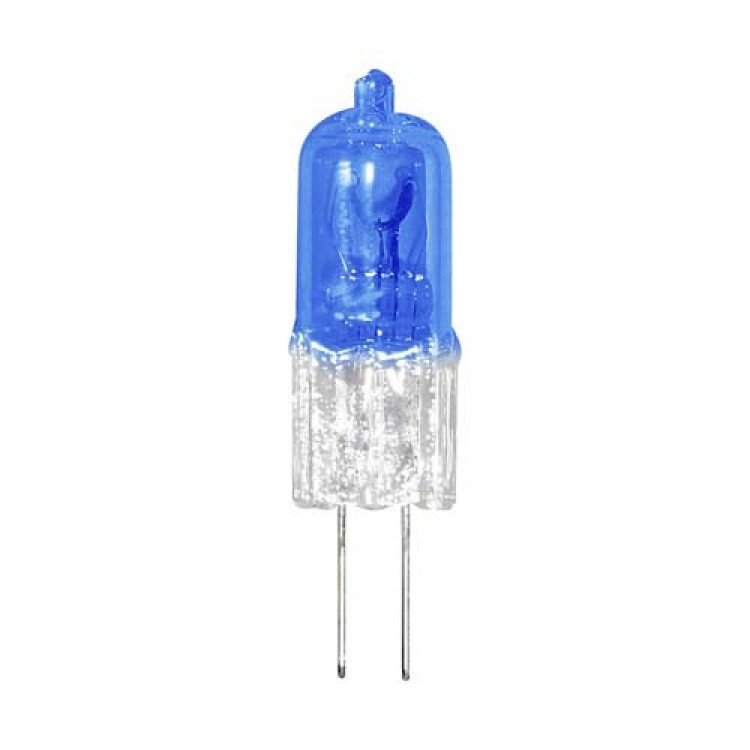 Галогенная лампа Feron HB2 JC 12V 20W G4 супер белая (super white blue)