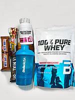 Набор спортивного питания для женщин Iron Woman : протеин + витамины + шейкер + батончики