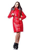 Модный женский пуховик с капюшоном Карелия р. 44-54
