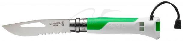 Нож Opinel Outdoor Fluo Green No.08 002319