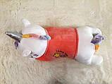 Плед - мягкая игрушка 3 в 1 (Единорог в кофточке розовый), фото 4