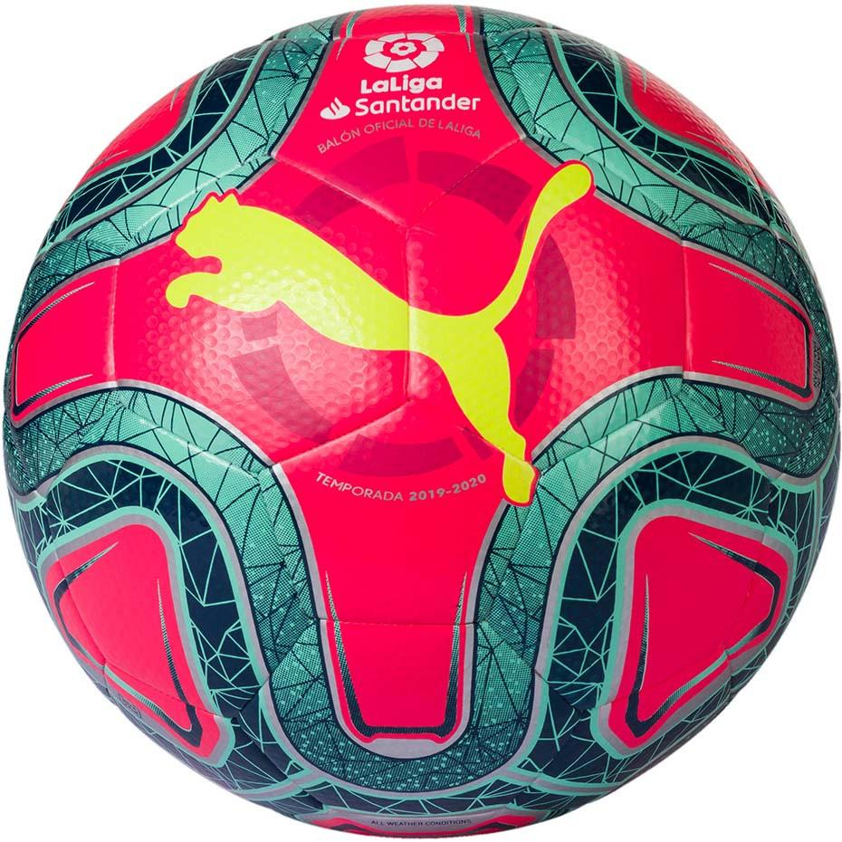 Мяч футбольный Puma La Liga 1 Hybrid 083399-02 Красный