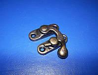 Крючок для шкатулки 33х29 бронза, фото 1