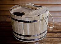 Запарник для веников дубовый 35 литров, фото 1