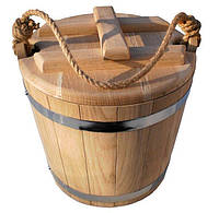 Ведро дубовое для солений 10 литров, фото 1
