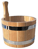 Ковш дубовый 5 литров, фото 1
