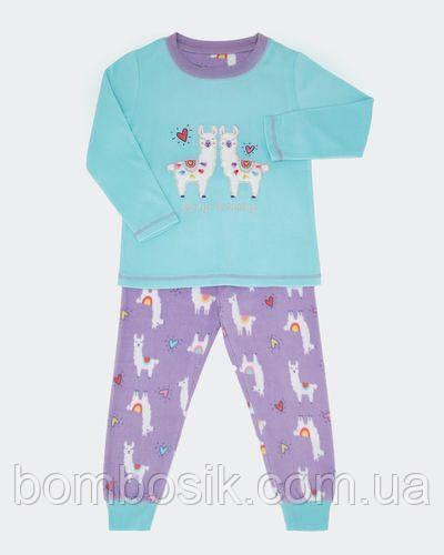 Пижама флисовая Dunnes для девочки, 3-4г (98-104см)