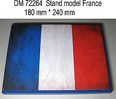 Подставка под модели (тема - Канада).  1/72 DANMODELS DM72264