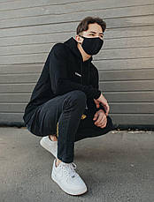 Многоразовая маска Staff black modern, фото 2