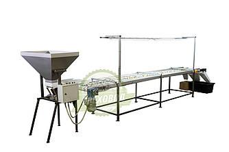 Инспекционный стол для сортировки грецкого ореха, семян и тд, сортировщик
