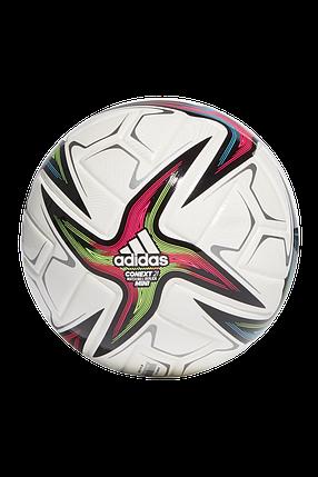 Мяч футбольный Adidas Conext 21 Mini Размер №1 GK3487 Белый, фото 2