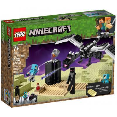 Конструктор LEGO MINECRAFT Последняя битва 222 детали