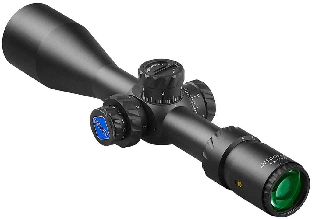 Прицел DISCOVERY  Optics HD 5-25x50 SFIR 30mm подсветка (170103)