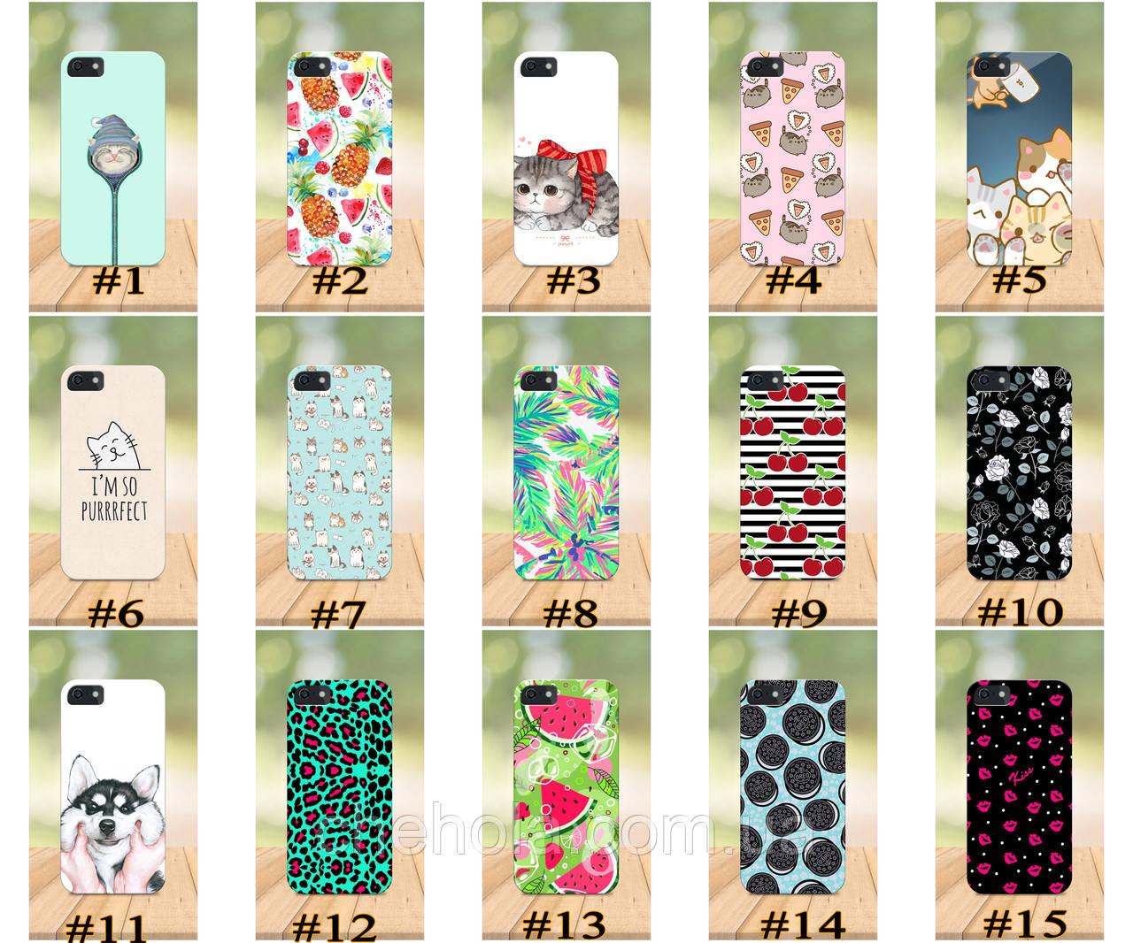 Чохол на iPhone 5 5s SE 4 4S бампер накладка з принтом Милі Для Дівчаток