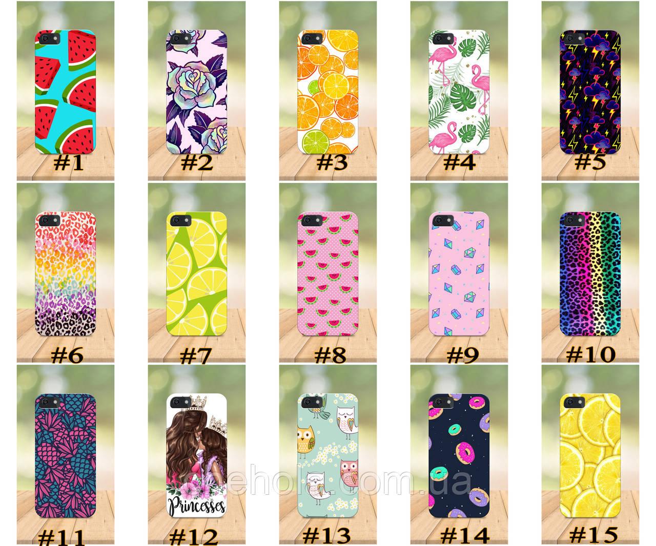 Чехол на iPhone 5 5s SE 4 4S бампер накладка с принтом Милые Для Девочек