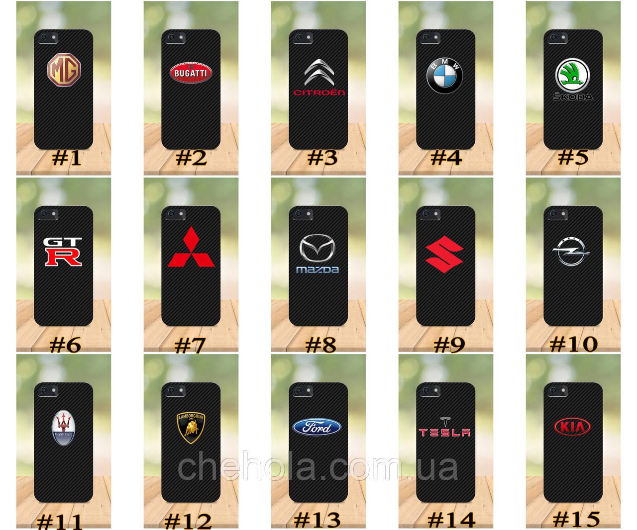 Чохол на iPhone 5 5s SE 4 4S бампер накладка з принтом бампер накладка з принтом авто марка з номером