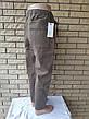 Джоггеры, джинси на резинці коттонові унісекс, накладні кишені карго, є великі розміри NN, фото 4