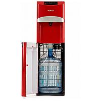 Кулер для води підлоговий з нижнім завантаженням HotFrost 45A Red