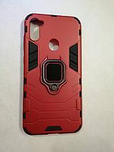Чехол Samsung A11/M11 Terminator Ring Red